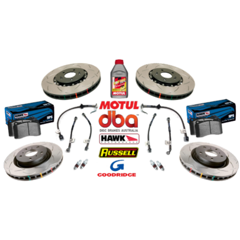 04 GTO Slotted Brake Package - DBA/Hawk
