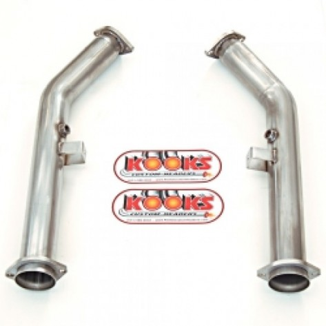 GTO Kooks 24113100 Stainless 3in x 2 1/2in Off-Road Mid Pipes For OEM Cat-Back (Kooks Headers To OEM) 2004