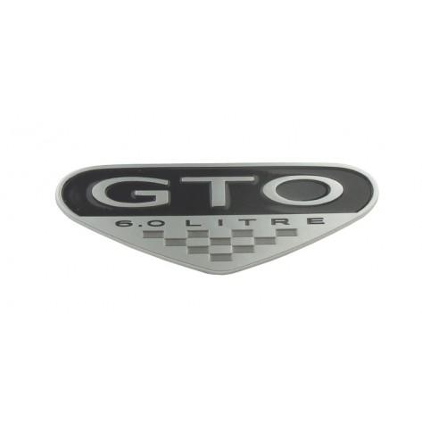 GTO 05-06 6.0L Fender Badge - 3 Options