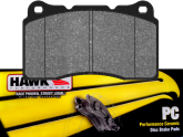 HB453Z.585 Front Hawk Ceramic Brake Pads