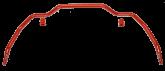 GTO Front 30mm Adjustable Swaybar - 428005-30
