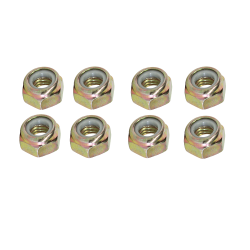 GTO 14432-HK Front Radius Arm Bushing Nut Hardware Kit (Per Set of 8)