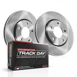 Power Stop 05-06 Pontiac GTO Front Track Day Brake Kit