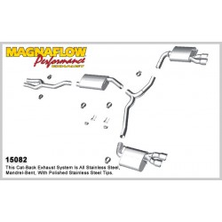 Charger 15082 Street Series Dual Split Rear Exit Catback Exhaust