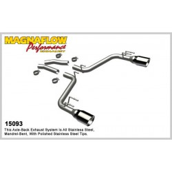 Camaro 15093 Competition Series Dual Split Rear Exit Axleback Exhaust