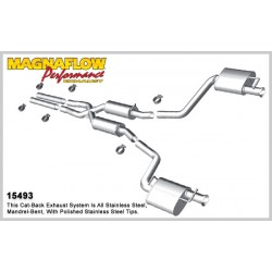 Charger 15493 Street Series Dual Split Rear Exit Catback Exhaust