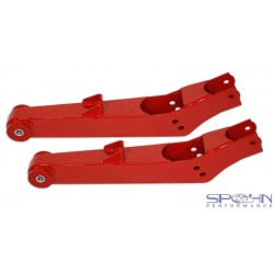 Pro-Touring Rear Lower Control Arms - Ride Height Adjustable - Poly