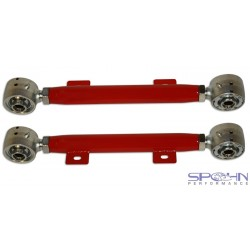 Camaro Spohn Tubular Rear Toe Links with Del-Sphere Pivot Joints - 4130N