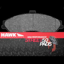 HB247B.575 Front Hawk Street 5.0 Brake Pads