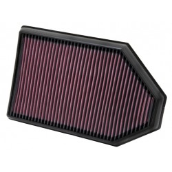 K&N Drop-In High-Flow Air Filter 33-2460