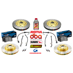 04 GTO Slotted/Drilled Brake Package - DBA/Hawk