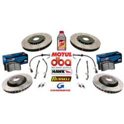 05-06 GTO Slotted Brake Package - DBA/Hawk