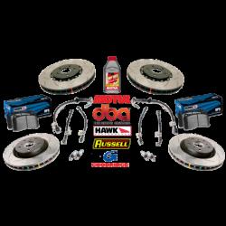 04 GTO Slotted Brake Package - DBA/Hawk