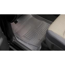 Husky Liners 08-12 Dodge Challenger WeatherBeater Combo Black Floor Liners