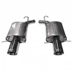 CTS Kooks 23116100 Stainless 2 1/2in Axle-Back Exhaust System Polished Slash Cut Tips 2009-2014 6.2L/ LS9