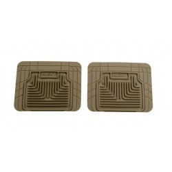GTO Husky Liners Heavy Duty Tan Rear Floor Mats