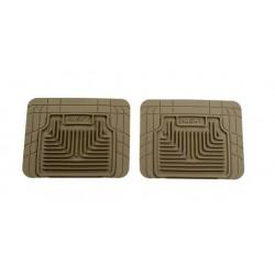 GTO Husky Liners Heavy Duty Tan Rear Floor Mats