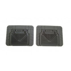 GTO Husky Liners Heavy Duty Gray Rear Floor Mats