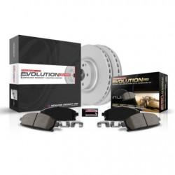 Power Stop 05-06 Pontiac GTO Front & Rear Z17 Evolution Geomet Coated Brake Kit