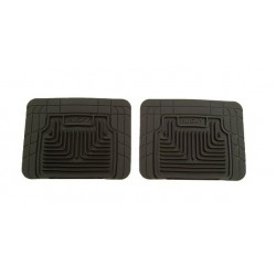 GTO Husky Liners Heavy Duty Black Rear Floor Mats