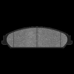 HB509B.678 Front Hawk Street 5.0 Brake Pads