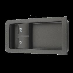 GTO 2-way window switch Gray