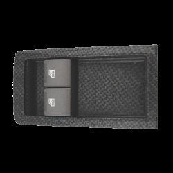 GTO 2-way window switch Gray Carbon Fiber Dipped