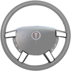GTO Steering Wheel Trim - OE Silver