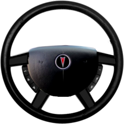 GTO Steering Wheel Trim - Carbon Fiber Dipped