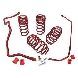 LX Eibach Pro-Plus Kit for 08-10 Dodge Challenger SRT-8 / 09-10 Challenger SE LC V6/R/T LC 5.7L Hemi V8