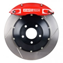 StopTech 04 Pontiac GTO BBK Front ST-40 Red Caliper 355x32 Slotted Rotor