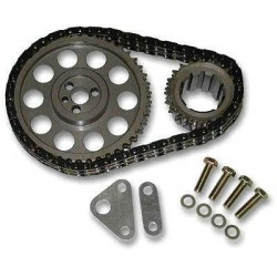 Manley 97-04 SB Chevey LS-1/LS-6 Captive Torrington & 9 Keyway Crankshaft Sprocket & Double Roller Chain