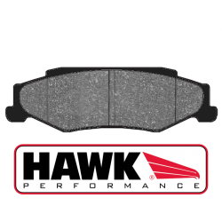 Hawk HB248x.650 Rear Brake Pads - Street