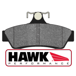 Hawk HB573x.615 Rear Brake Pads - Street