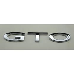 """04 """"GTO"""" Trunk Emblem"""
