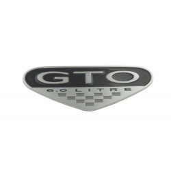GTO 05-06 6.0L Fender Badge - 3 Options