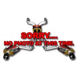 Challenger 16513 Street Series Quad Split Rear Exit Catback Exhaust