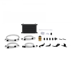 Mishimoto 04-06 Pontiac GTO 5.7L/6.0L Thermostatic Oil Cooler Kit - Black