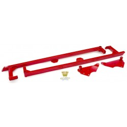 GTO BMR SFC007R Unibody Brace - Weld-On Boxed Undercar Brace - Red
