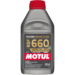 Motul RBF660 Racing Brake Fluid DOT4 - 500ml