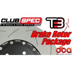 G8 GXP DBA T3 Brake Rotor Package - Slotted - w/Camaro Caliper Upgrade