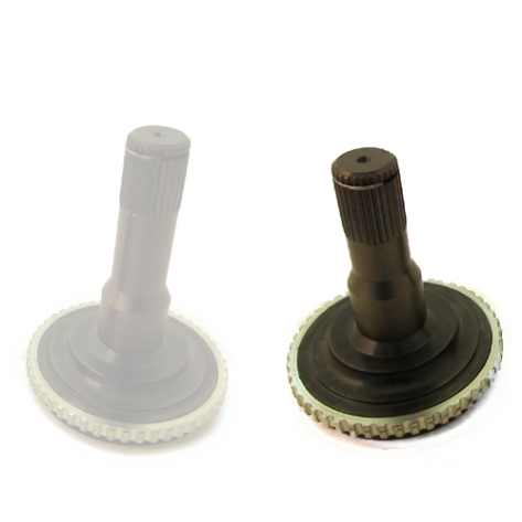 DSS GTO 300M 108mm Stub for Stock Diff w/ Replaceable Spline Section - Right