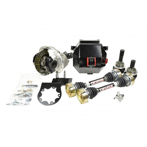 "GTO VZ 9"" IRS Kit - Iron Center Section - 3.5"" Alum Driveshaft - OEM Outer Stubs"
