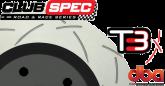 DBA42605S 4000 Series Slotted Rear Rotors Black Camaro SS