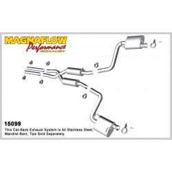 Camaro 15099 Stainless Dual Split Rear Exit Catback Exhaust