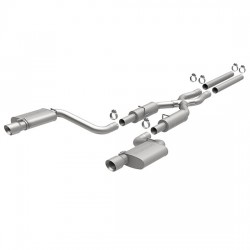 Charger 15494 Street Series Dual Split Rear Exit Catback Exhaust