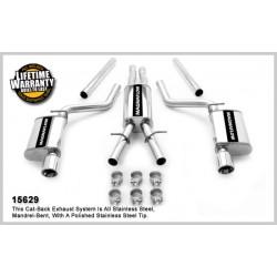 300 Magnaflow 15629 Stainless Dual Split Rear Exit Catback Exhaust