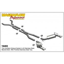 Camaro 16483 Competition Series 3.0in Dual Split Rear Exit Catback Exhaust