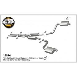 Challenger 16514 Street Series Dual Split Rear Exit Catback Exhaust