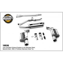 Charger 16936 Stainless Dual Split Rear Exit Catback Exhaust